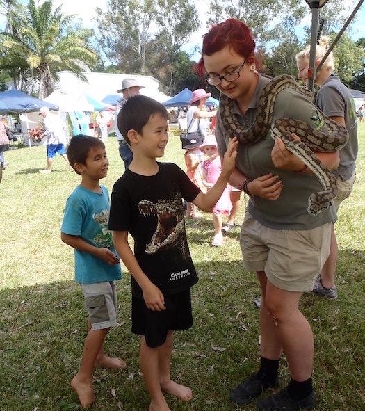 Volunteer program Port Douglas Wildlife Habitat
