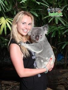 Actress Kimberley Crossman loves Kodi Koala